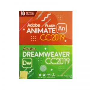 Adobe ANIMATE FLASH CC+DREAMWEAVER CC2019 DVD9 JB